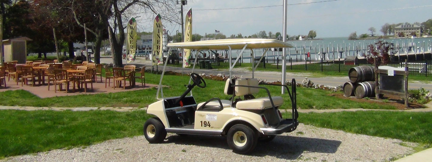 Edgewater Hotel Delaware Cart Rentals Vehicles Put In Bay Oh